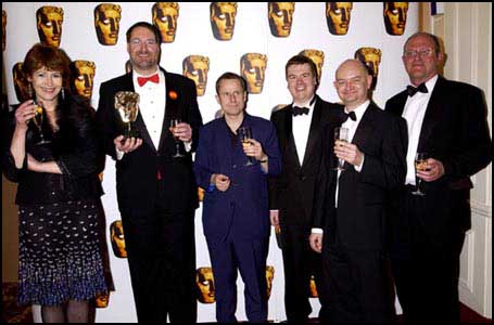 BAFTA Winner's Circle Photo