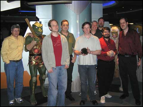 A Gorn, a Salt Monster, and Some Game Designers