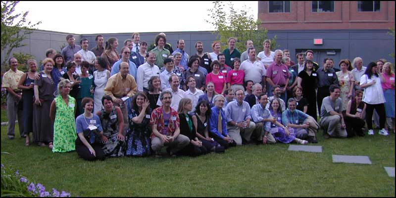 Group Photo at Infocom Reunion